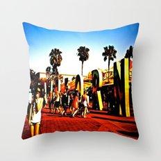 california adventuring Throw Pillow