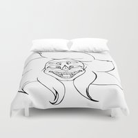 malachite Duvet Covers featuring We're Malachite Now by Josette