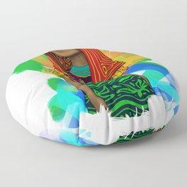Ustup - kuna/guna girl Floor Pillow
