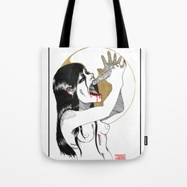 Bury the Hatchet Tote Bag