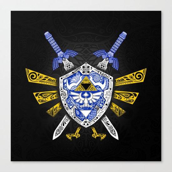 Heroes Legend - Zelda Canvas Print