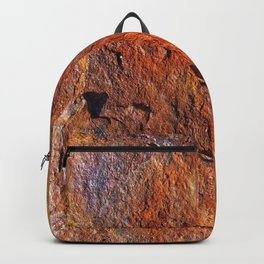 Fire Stone rustic decor Backpack