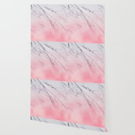 Cotton candy marble Wallpaper