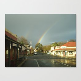 Chiltern- Antique Gold at Rainbows End Canvas Print
