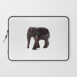 Brown Elephant with a Missing Piercing Laptop Sleeve
