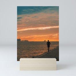 Running  Mini Art Print