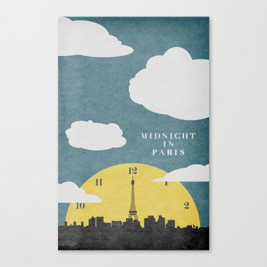 Midnight In Paris Canvas Print