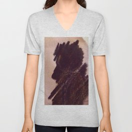 Shadow couple Unisex V-Neck