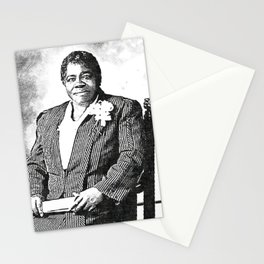Mary Jane McLeod Bethune - SketchArt - American Educator Society6 Online Artworks 899 Stationery Cards