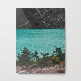 Laguna Huemul Metal Print