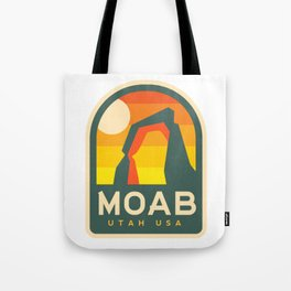 Moab Utah Patch Tote Bag