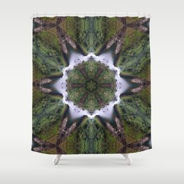 Luakini O Ka Wai Shower Curtain