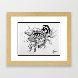 fisheye Framed Art Print