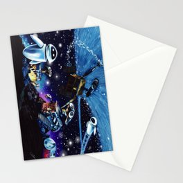 Wall-E Collage Stationery Cards