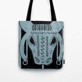 Strength (Black) Tote Bag