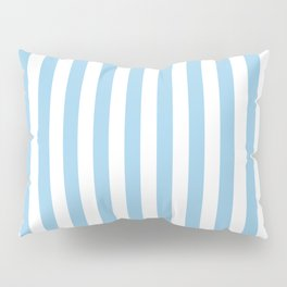 Sky Blue Stripes Pillow Sham