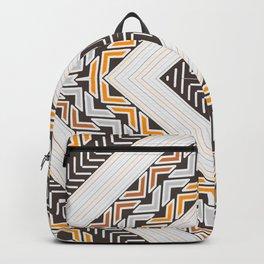 Tribal geometric view Backpack