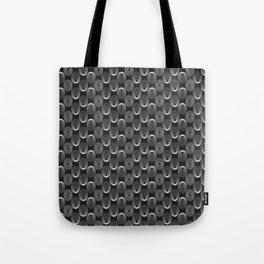 White circles Tote Bag