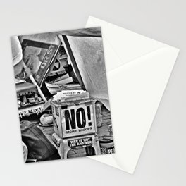War is NOT the answer Stationery Cards