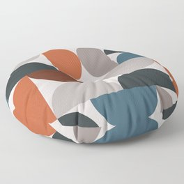 Mid Century Modern Geometric 25 Floor Pillow