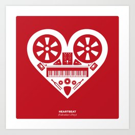 Heartbeat (Valentine's Day) Art Print
