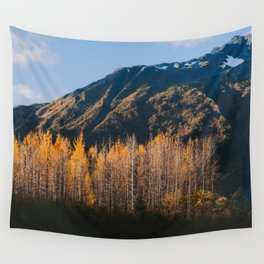 Autumn in Kenai Fjords National Park II Wall Tapestry