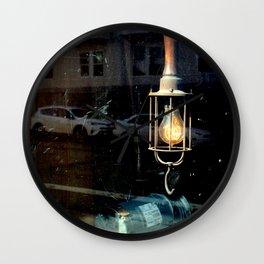 What Light Through Yonder Window... Wall Clock