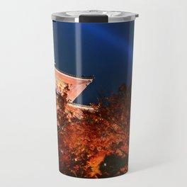 Kiyomizudera Red Travel Mug