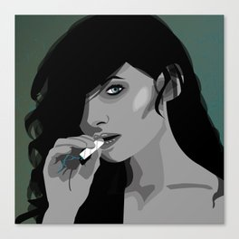 Smoke on this II Canvas Print