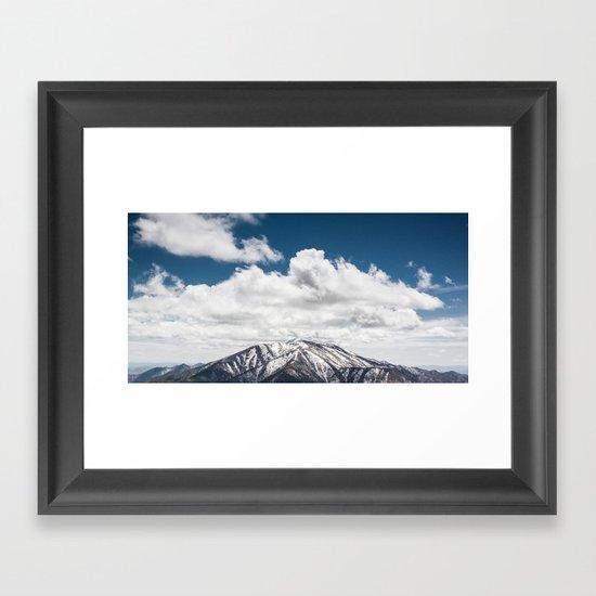 Telescope Peak Framed Art Print