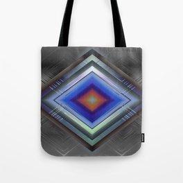 Diamonds On Steel Tote Bag