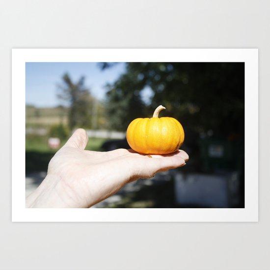Tiny Pumpkin Art Print