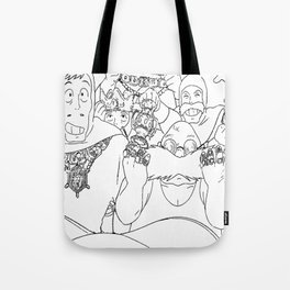 Always listen to Mom! Tote Bag