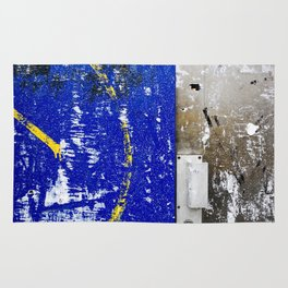 The Door by the Blue Wall Paris Rug