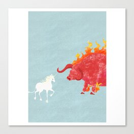 Last Unicorn Movie Poster Canvas Print