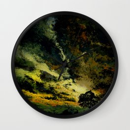 Twilight hours Wall Clock