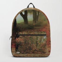 Deep tree pavement Backpack