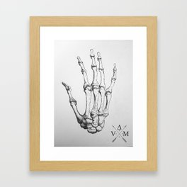 Anatomical Hand  Framed Art Print