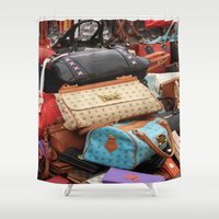 givenchy Shower Curtains featuring Designer Fashion Bags by taiche