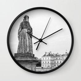 Jardin du Luxembourg, Paris Wall Clock