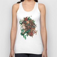 beast Tank Tops featuring BEAST by Tim Shumate