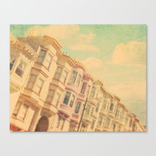 Sweet San Francisco. SF photograph Canvas Print