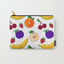 happy fruits and berries Carry-All Pouch