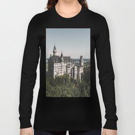 Neuschwanstein fairytale Castle - Landscape Photography Long Sleeve T-shirt