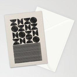 Woodblock Art, Warm Tone Stationery Cards
