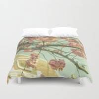 blossom Duvet Covers featuring Blossom by AlejandraClick