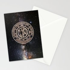 Gallifrey Prepatory Academy Stationery Cards
