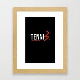 TENNI'S' TOP Framed Art Print