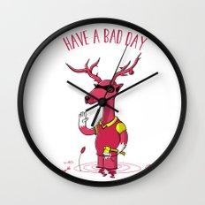 Bad Horacio Wall Clock