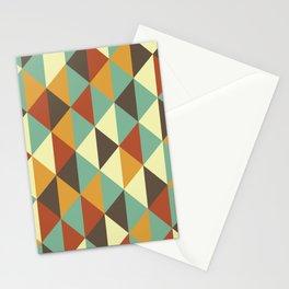 Triangle stencil Stationery Cards